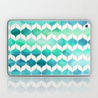 Ocean Rhythms And Mermai… Laptop & iPad Skin