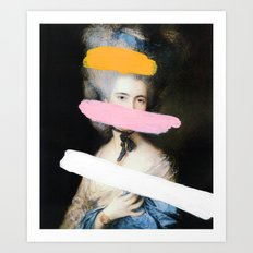 Brutalized Gainsborough … Art Print