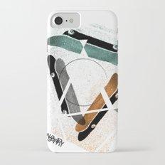 Skatestriangles iPhone 7 Slim Case