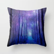Fantasy Path Throw Pillow