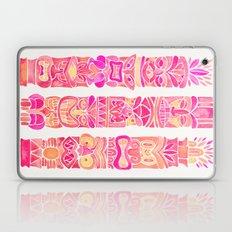 Tiki Totems – Pink Pal… Laptop & iPad Skin