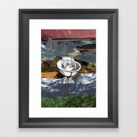 EXCHANGE Framed Art Print