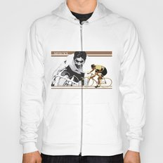 cycling legend Eddy 'The Cannibal' Merckx Hoody