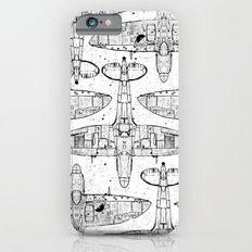 Spitfire Mk. XIV (black) iPhone 6s Slim Case