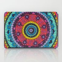 Rainbow Mandala iPad Case