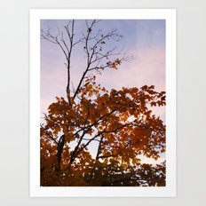 The Leaves That Remain Art Print