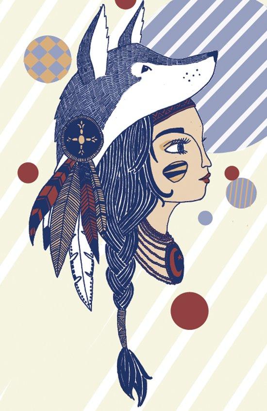 Native American Art Print