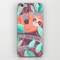 Hang in There Sloth iPhone & iPod Skin