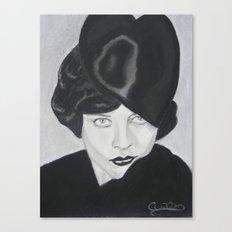Silent Glamour Canvas Print