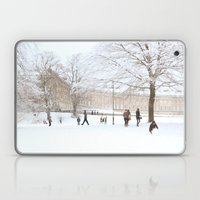 The Royal Crescent in the Snow. Laptop & iPad Skin
