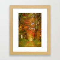 The Way To Paradise Framed Art Print