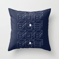 Bubble Bobble Throw Pillow
