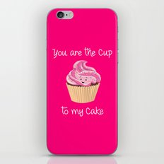 My cupcake - Pink version iPhone & iPod Skin