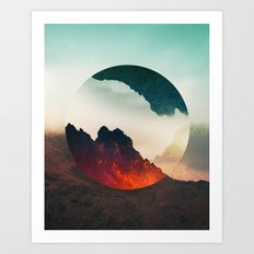 Second Sphere Art Print