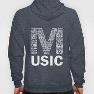 Invert Music Genres Hoody