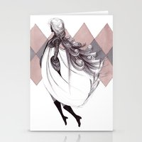 WINTER QUEEN Stationery Cards