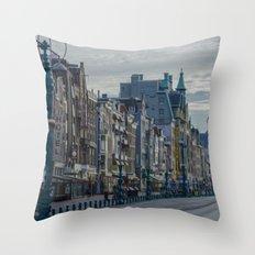 Amsterdam Layover Throw Pillow