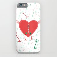 iPhone & iPod Case featuring Keys of heart by ChiLi_biRó