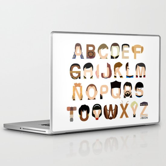 Star Trek Alphabet Laptop & iPad Skin