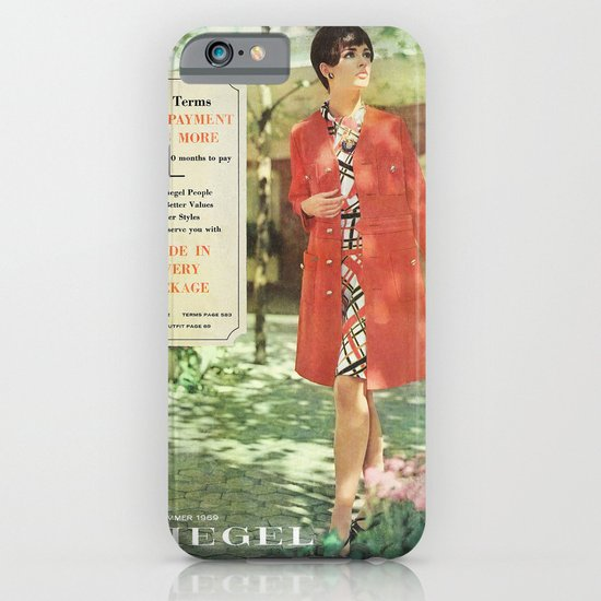 1969 - Spring SUmmer Catalog Cover iPhone & iPod Case