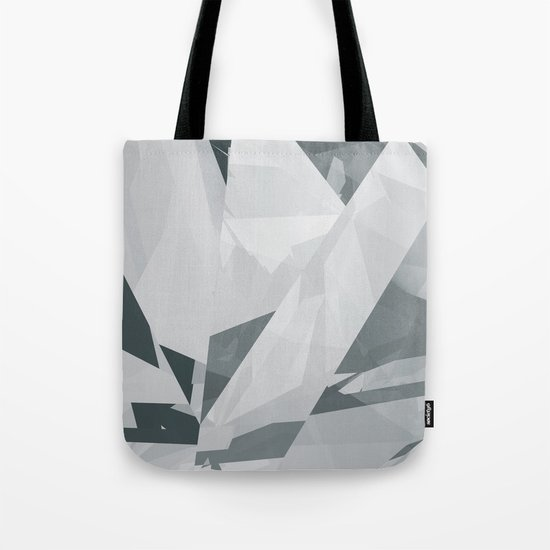 Ice cracks #1 Tote Bag