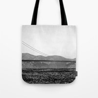 Golden San Fran Tote Bag