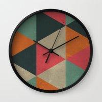 Springtime Vibes Wall Clock