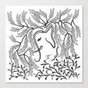 Jungle Ele Canvas Print