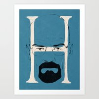 H Is For Heisenberg Art Print