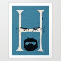 H Is For Heisenberg Art Print