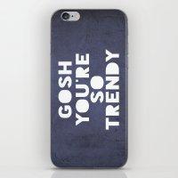 Gosh (Trendy) iPhone & iPod Skin