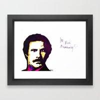 Ronnie B Framed Art Print