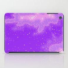 Purple Nebula (8bit) iPad Case