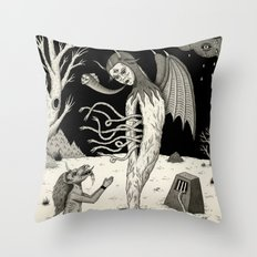 Arisen Throw Pillow