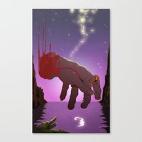 Hook Canvas Print