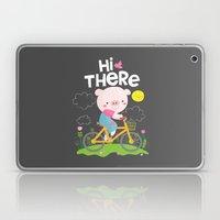Pig On A Bike Laptop & iPad Skin