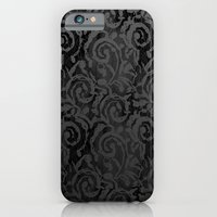Black Lace iPhone 6 Slim Case