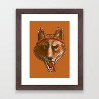 The Spicy Dingo Framed Art Print