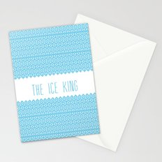 the ice king pattern...mathamatical! Stationery Cards