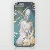 Buddha's awakening from deep meditation iPhone 6 Slim Case