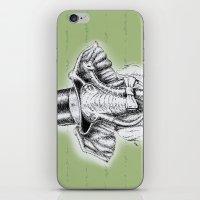 I'm too SASSY for my hat! Vintage Elephant. iPhone & iPod Skin