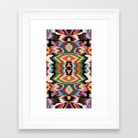 BoH0 Camo Framed Art Print