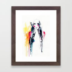 Midnight Framed Art Print