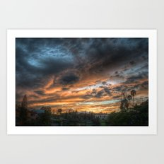 Vista (the sky is source of great beauty) Art Print