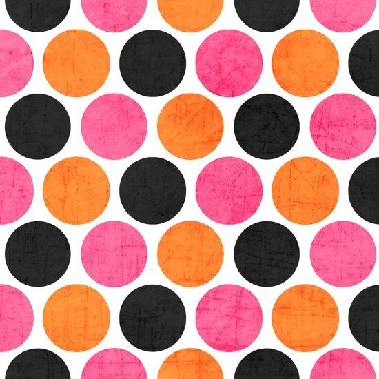party polka dots Art Print