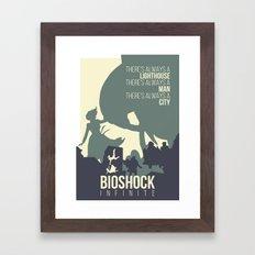 BIOSHOCK INFINITE Framed Art Print