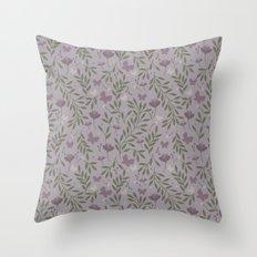 Blossom & Butterflies Throw Pillow