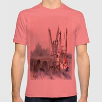 Mayport 3 of 3 Mens Fitted Tee Pomegranate SMALL