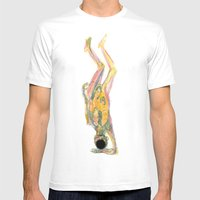 Cuerpo 01 Mens Fitted Tee White SMALL