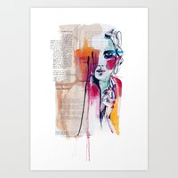 Sense V Art Print